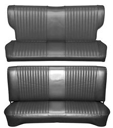 65 Falcon Futura 4 Door Station Wagon Full Upholstery Set W/ Bench Seat, Leather