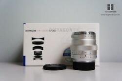 Brand New Carl Zeiss Zm Distagon T 35mm F/1.4 Lens - Silver For Leica M Mount
