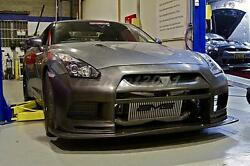 DRY Carbon Top Racing Front Bumper (replacement) Fit For 08-13 Nissan R35 GTR