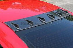 Carbon Kit Fit For 08-14 Nissan R35 Gtr Cs-style Vortex Generator Roof Fin