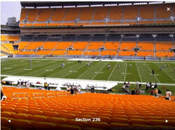 Pittsburgh Steelers PSL - Own 2 Seats in the Luxurious Club West Section 236