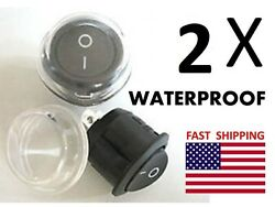 2 Outdoor Switches On Off - Universal 12v Dc Military Jeep Replacement Dash A C