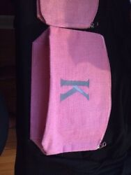 Monogrammed Cosmetic Bag With A quot;Kquot; $15.00