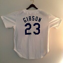 Kirk Gibson Los Angeles Dodgers Autographed White Mitchell And Ness Jersey