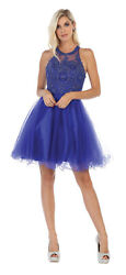 NEW GRADUATION BRIDESMAID BIRTHDAY PROM SHORT CRUISE CUTE PARTY DRESS UNDER $100