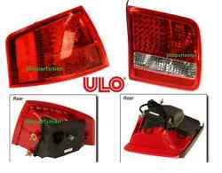 ULO Left Inner + Left Outer Tail OEM Light SET fits 2004-2007 Audi A8 Quattro