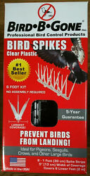 New Bird-b-gone Bird Control Deterrent 6-1and039 Spike Strips 6and039 Kit 5 W Boat House