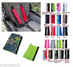 Car And Pram Safety Seat Belt Strap Shoulder Cover Harness Pad Pads Two-sided