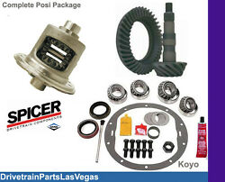 Late Dodge Chrysler 9.25 Posi Package Ring And Pinion Master Kit Track Lock 3.92