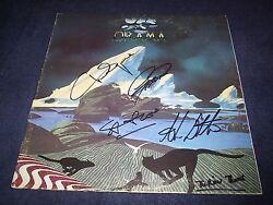 Yes Signed Record Titled Drama 4 Members R.i.p Mr.squire Wow Inscribed Proof