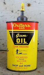 Vintage Outers 445 Gun Oil Can - 3 Oz.