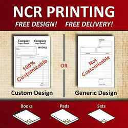 Ncr Duplicate Book Invoice Delivery Note Purchase Order Receipt Book