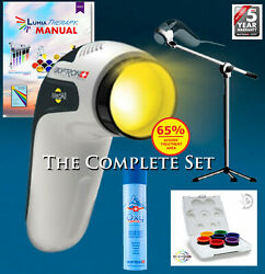 Bioptron Youthron®/medall® Complete Set, Oxy, Colours, Stand, Lumia Therapy Man.