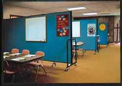 Screenflex 6and0398 Tall 3-13 Panels Screen Portable Partition Room Divider Usa Sale