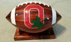 Custom Wooden Nfl, College Footballs, Or Local Team- You Choose Your Team