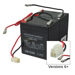 24 Volt Battery Pack for the Razor eSpark (5 Ah With Harness)
