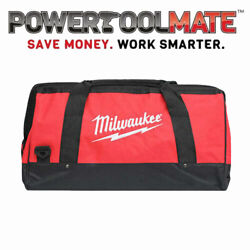 Milwaukee M18 24 Canvas Contractors Heavy Duty Carry Tool Bag M18bag