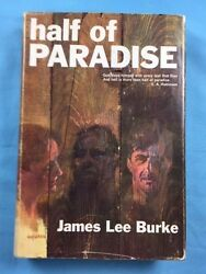 Half Of Paradise - First Edition Signed By James Lee Burke