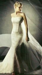 Discontinued Two-piece Corset Wedding Gown
