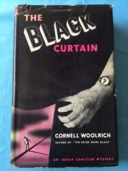 The Black Curtain First Edition By Cornell Woolrich