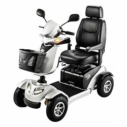 New Silverado 4 Wheel Power Scooter With 75ah Many Features Full Suspension