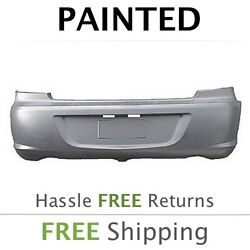 New Fits 2007 2008 Chrysler Sebring Dual Exhaust Rear Bumper Cover Painted