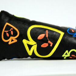 Customshop 911 Headcover Angry Spade Black Fit Blade Putter