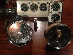 Mercedes 300sl Gullwing Complete Set Of Gauges For Dash 1954 Or Newer