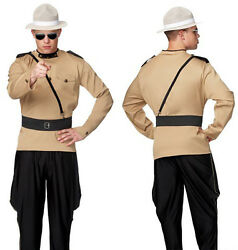 Adult Mens Large/xl State Super Troopers Costume Canadian Mounty Cop Police