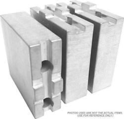 Tg-12300af Aluminum Soft Jaws For Tongue And Groove 12 Chuck W/a 3 Ht - 3 Pc Set