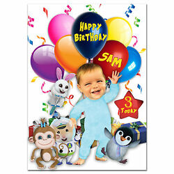 736; Large Personalised Birthday card; Baby Jake; for any name age to little GBP 3.75