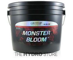 Grotek Monster Bloom 10 KG - booster flower enhancer hydroponic nutrient 10kg
