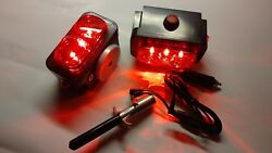 Pair Of Towaide Ta55 Wireless Tow Lights 5.5 Magnetic Tow Truck Wrecker S/t/t