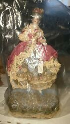 Vintage Porcelain Doll Marie Antionette Collectible Doll