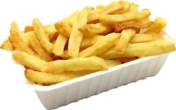 1 Pair Of Chip Carton Stickers Catering Food Shops Cafe Vinyl Food Sticker