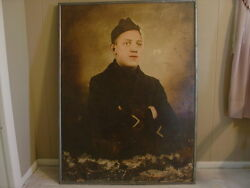 Usmc Marine Wwi Named Photo 3and0394 High By 2and0396 Wide Wounded Vet Framed