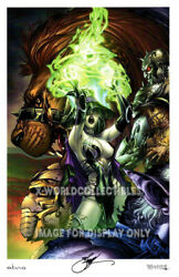 Ebas Grimm Fairy Tales Oz 1c Wicked Witch Art Print 11x17 - Signed