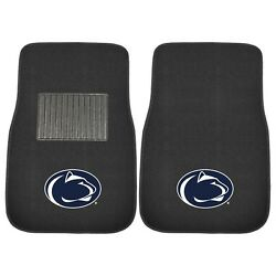 Penn State Nittany Lions 2 Piece Embroidered Car Auto Floor Mats