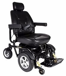 Drive Trident Hd Power Chair With 24 Wide Seat Heavy Duty 450 Lb. Weight Cap.