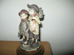 capodimonte the urchins no 328 signed g