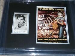 The Day The Earth Stood Still Signed Michael Rennie, Patricia Neal, Wise, Gray