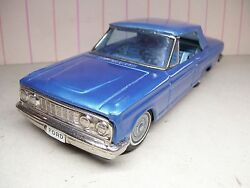 8 long bandai japan tin friction 1964 ford