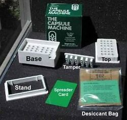 The Capsule Machine Complete Kit W/tamper Tool Size 00 Capsule Filler New