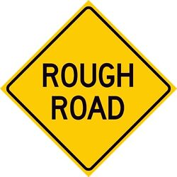 W8-8 Rough Road Sign
