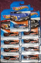 2011 Hot Wheels Hw Drag Racers 122 Andinfin And03949 Merc Andinfin Lot Of 9 Blue And Black 1949