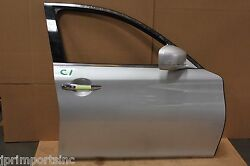 09-13 Infiniti M35h M37 M56 Front Passenger Side Door Assembly Use 1000 Miles