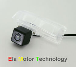 Ccd Car Rear View Backup Reverse License Plate Camera For Toyota Prius 20092014