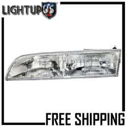 1992-1997 Ford Crown Victoria Left Driver Side Lh Headlight Headlamp