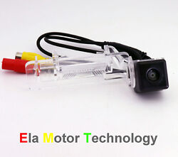 Ccd Car Rear View Backup License Plate Lamp Camera For Smart Fortwo / Smart Ed