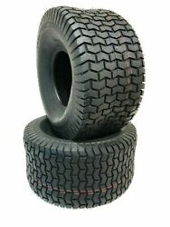 Two New 18x8.50-8 D265 Turf Riding Lawn Mower Garden Tractor Tires Free Shipping